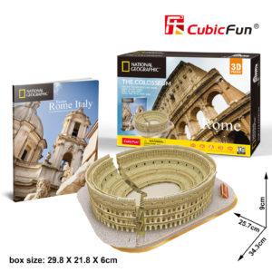 Róma Colosseum 3D puzzle CubicFun