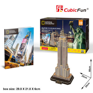 New York Empire State Building 3D puzzle CubicFun