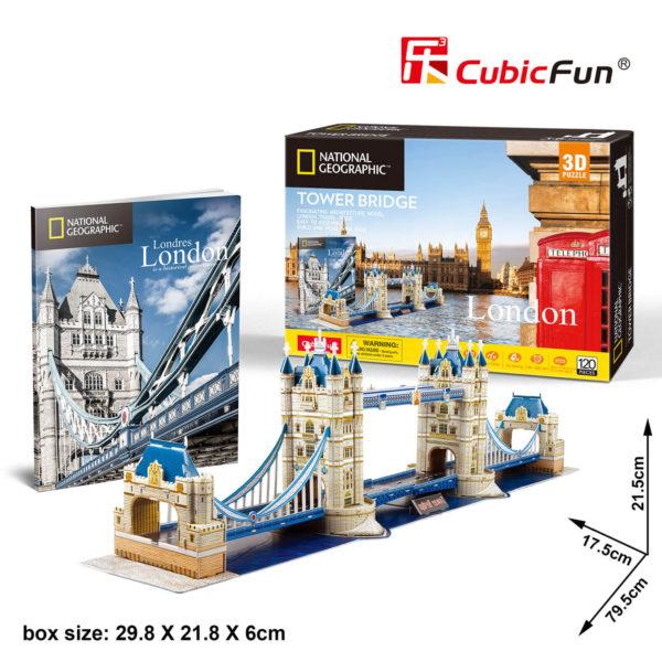 London Tower Bridge 3D puzzle CubicFun
