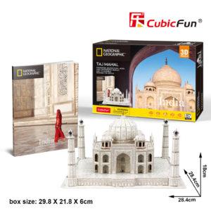 India Taj Mahal 3D puzzle CubicFun