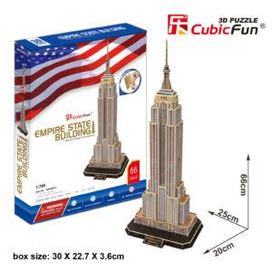 Empire State Building 3D puzzle CubicFun