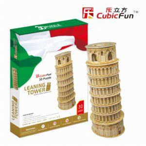 Pisai Ferde Torony 3D puzzle CubicFun
