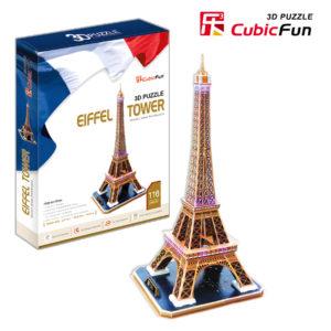 Eiffel Torony 3D puzzle CubicFun