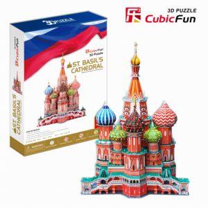 Moszkva Boldog Vazul-székesegyház 3D puzzle CubicFun