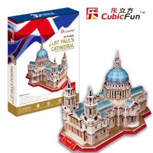 Szent Pál Székesegyház 3D puzzle CubicFun