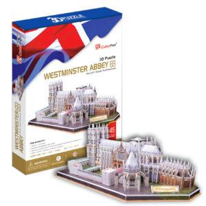 Westminsteri apátság 3D puzzle CubicFun