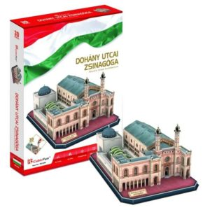 Dohány utcai Zsinagóga 3D puzzle CubicFun