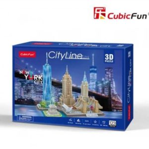 New York City 3D puzzle CubicFun City Line